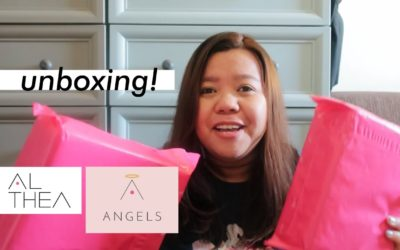 Unboxing my #AltheaAngels Packages!