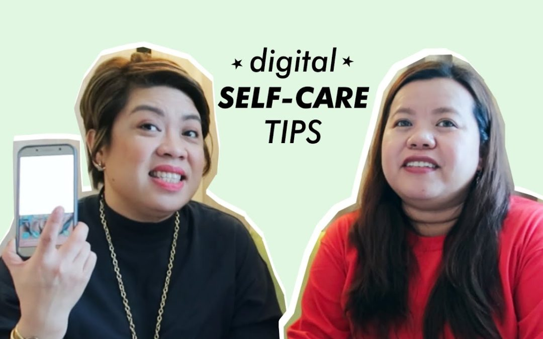 4 Digital #SelfCare Tips with Dr. Michele Alignay